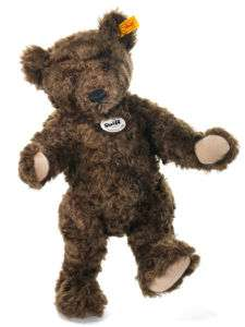 Steiff 1920 Classic Teddy Bear   Dark brown 25cm 000805