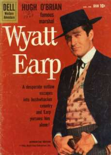 COMPLETE Wyatt Earp Comics Books on DVD   TV Western Golden Age Cowboy