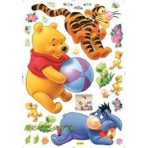 Winnie the Pooh Friends (Playing)  Loft 520 Kids Nursery