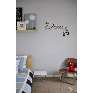 Dance Wall Art decals Love Rain vinyl stickers letters decal arts