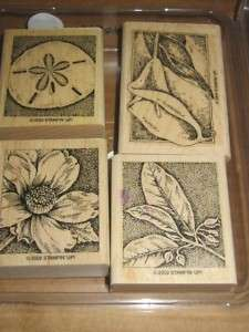 2002 Stampin Up Nature Wonders Stamps Set 3 and 1 2004