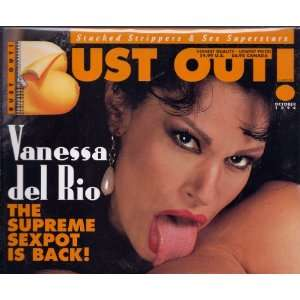 OUT MAGAZINE OCTOBER 1994 VANESSA DEL RIO: BUST OUT MAGAZINE: Books