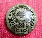 1896 United Garment Workers of America UGWA AFL pin