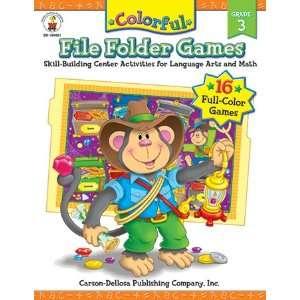 CARSON DELLOSA COLORFUL FILE FOLDER GAMES GR 3