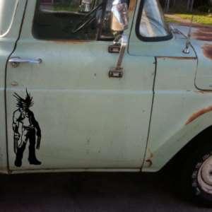 Wolverine X Men car truck vinyl decal die cut sticker