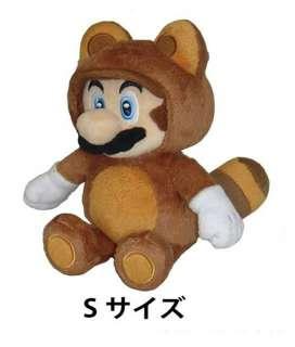 New Super Mario Plush Series Plush Doll 8 Tanooki Mario