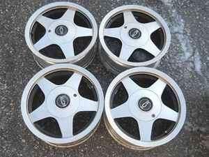 Delsol 14 ICW Alloy Wheel Set 4 Lug 100MM 4.5 LKQ