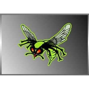 Green Hornet Kato Vinyl Decal Bumper Sticker 4x5