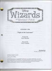 Wizards Of Waverly Place Script   You Pick   Season 4