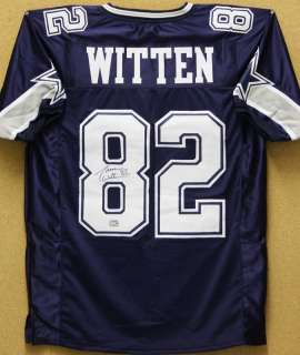 Jason Witten Autographed Dallas Cowboys Dlb Blue Jersey