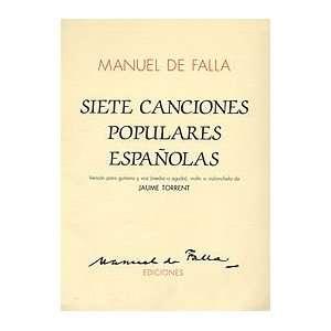 Canciones Populares Espanolas (vers. J. Torrent) Musical Instruments