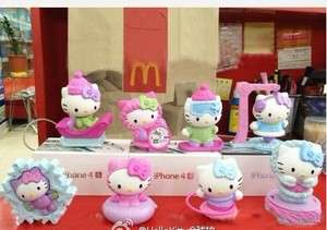china 2012 McDonalds New Year winter hello Kitty vigor toys 8 Limited