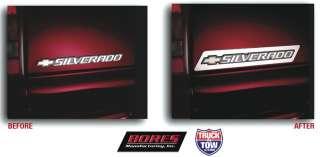 Tailgate Logo Trim for Chevrolet Cars & Trucks