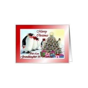 Whimsical Penguins / Christmas Tree / Gifts Card Health & Personal
