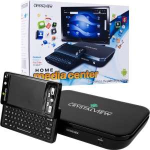 CrystalView 72 4930 Google Android Smart TV Media Center with HDMI