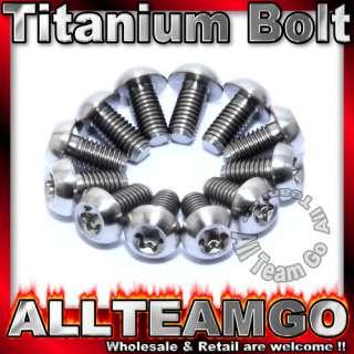 12x Titanium Ti Bolt Hayes Avid Hope Shimano Disc Rotor