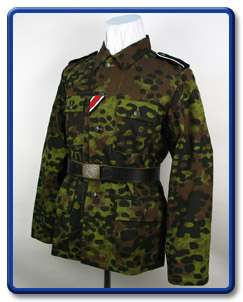 WW2 German Field Made Plane Tree No.2 Camo Tunic S XXL