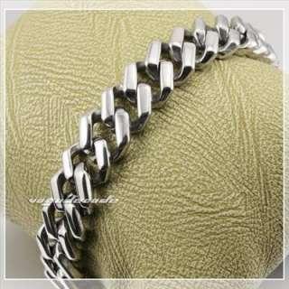 316L Stainless Steel Cool Mens Bracelet Chain 5D020