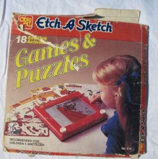 ETCH A SKETCH GAMES & PUZZLES fun screens WARNER BROS