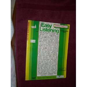 Top 50 Easy Listening Music Book (Chord Organ): Robbins Music: Books