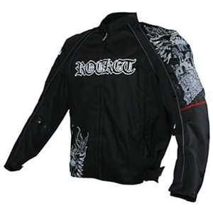 JOE ROCKET RAVE MENS TEXTILE JACKET BLACK/BLACK 3XL