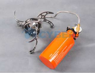 Outdoor Camping Stove Multi Use Fuel Backpacking Stove Cook Gear