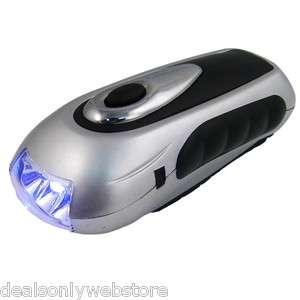Pack) Wilderness Essential Dynamo Hand Crank LED Flashlight