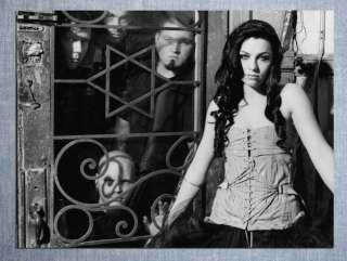 D4909 Evanescence Amy Lee BW Rock Music 32x24 POSTER