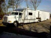 Race car, Sprint Car, Freightliner, motorhome&trailer