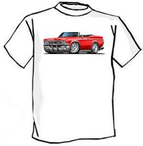 1965 66 Chevrolet Impala Muscle Car Cartoon Tshirt FREE
