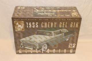 AMT 125 1955 Chevy Bel Air Millennium Model Kit Sealed 036881302667