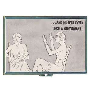 Retro Ladies, Well Endowed Man ID Holder, Cigarette Case