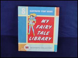 1965 My Fairy Tale Library 8 book boxed set Eulalie Platt Munk
