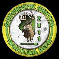 2011 Illinois Whitetail Deer Harvest Pin   Archery   Bow
