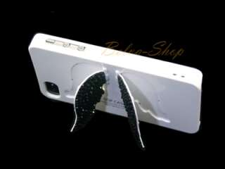 Bling Crystal White Angel Wings iPhone 4 / 4S Case using Swarovski