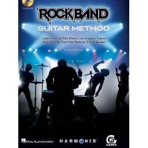 Rock Band Guitar Method   BK+CD Musical Instruments