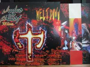 Judas Priest / 3 LP / 98 Live Meltdown / Iron Maiden Metallica Ozzy