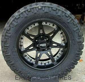 Moto Metal 961 18 Wheels W/ 35 12.50 18 Nitto Tires
