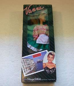 Rare! VANNA WHITE ITALY DOLL Ltd. Edition HSN 92/975