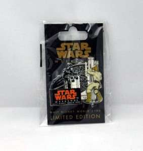 Disney Star Wars Weekends 2006 Pin Darth Vader/Luke
