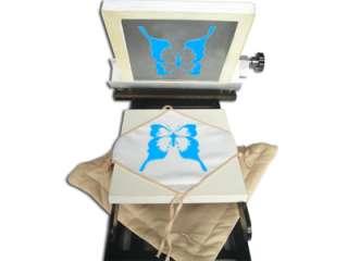Color 1 Station Screen Printing Machine 3 Pallets Fine Adjust