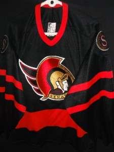 AUTHENTIC GC VTG BAUER CANADA OTTAWA SENATORS NHL JERSEY SHIRT SENS