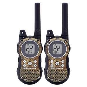 Motorola T9550 Rechg Pk Camo, NOAA, 25Mi   Radios/Walkie Talkies