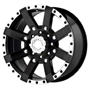 American Outlaw TnT Series Black Wheel (17x8.5/5x114.3mm)