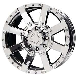 American Outlaw TnT Series Chrome Wheel (17x8.5/5x114.3mm)