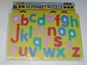 Childs Alphabet FOAM Puzzle Ages 3+ NIP
