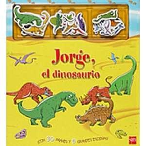 Jorge, el dinosaurio / Magnetic Dinosaur Story Book