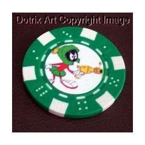 Marvin The Martian Las Vegas Casino Poker Chip lim Ed