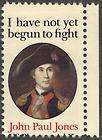 1979 US Postal Issues 1st Day John Paul Jones Commem