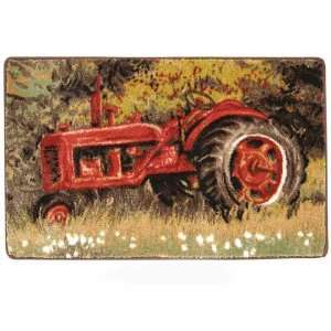 Farm TRACTOR country RUG BATH MAT home decor Everything